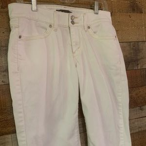 Levi's 529 Curvy Straight white jeans, size 10
